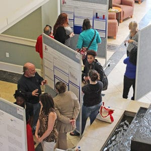 2017-18 FMU Research & Exhibition Day (RED) @ Lee Nursing Building Lobbies