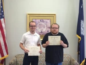Two UPE Honors