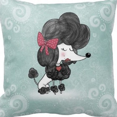 Pillow Talk/DIY with the Poodles