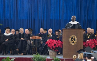 Duke Energy's Ghartey-Tagoe tells grads to avoid 'victim mentality'