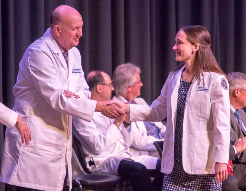 FMU PA's gather for White Coat ceremony