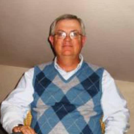 Photo of professor Harding