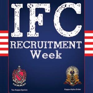 IFC Spring Recruitment @ Lee Nursing Building, Auditorium, Lobby, 137, 145