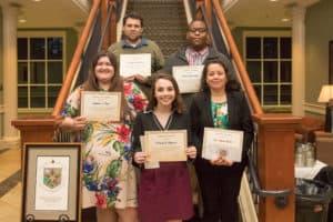 Math Department Inducts 5 to Kappa Mu Epsilon Honor Society
