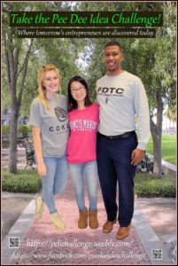 Three students from three different colleges