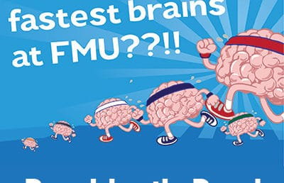 Do you have the fastest brain on campus?