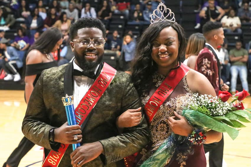 FMU crowns 2018 Homecoming king and queen