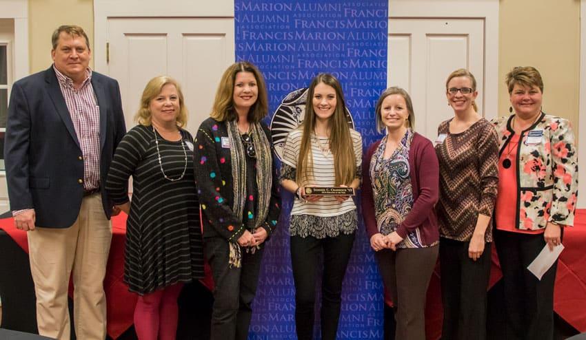 FMU School of Education presents alumni award