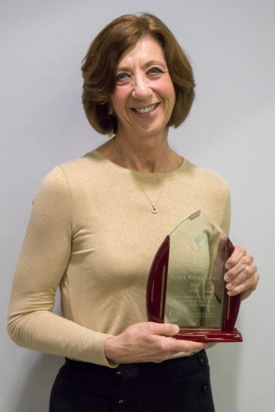 Dr. Wittmann-Price receives AAFSC Diversity Award