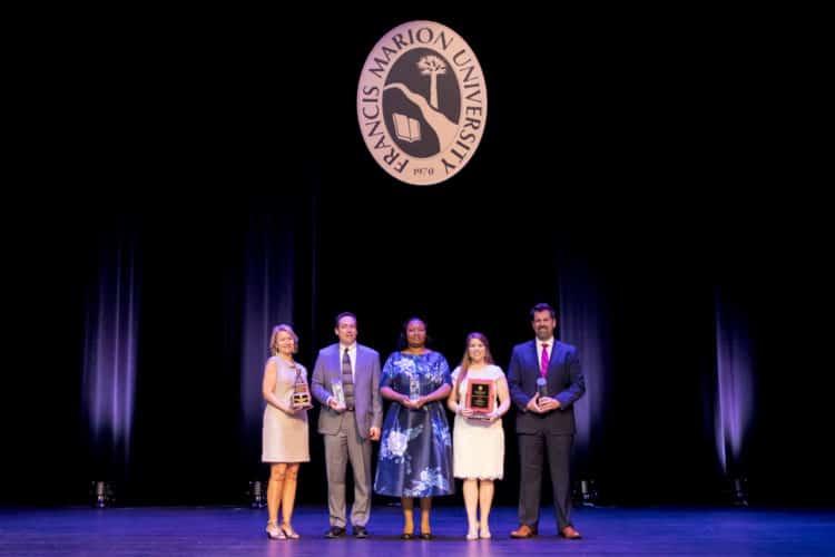 Five alumni award recipients