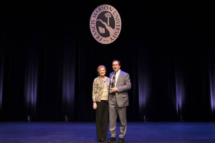Alumni award recipient