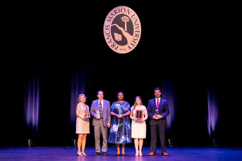 Francis Marion presents alumni awards at annual Alumni Awards Gala