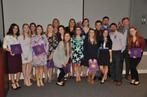 BSN Inductees posed for a picture