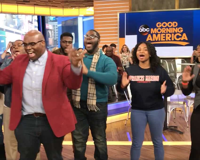 FMU's YGB says 'Good Morning America' on famed ABC program