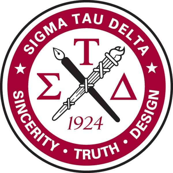 English Awards and Sigma Tau Delta Induction