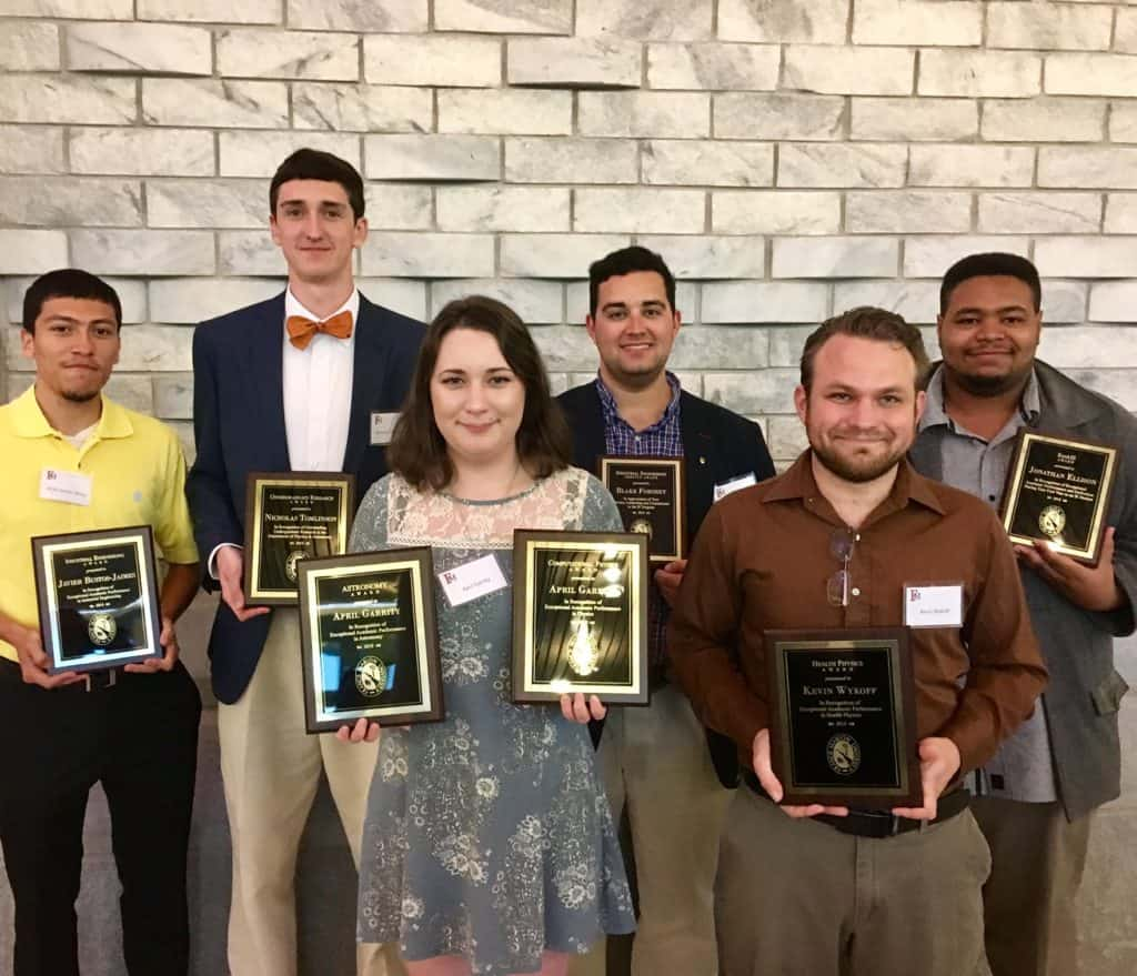 FMU award winners