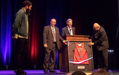 FMU retires Browning's jersey