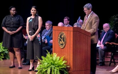 Francis Marion presents student academic awards