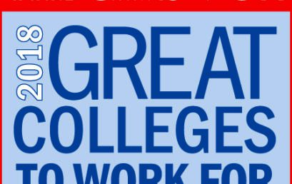 FMU recognized as Great College to Work For