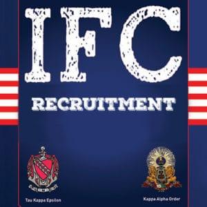 IFC Recruitment Kick Off @ LNB Auditorium, 137, 145