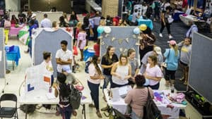 Student Involvement Fair @ UC Commons
