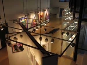 Fine Arts Gallery Overhead 2018