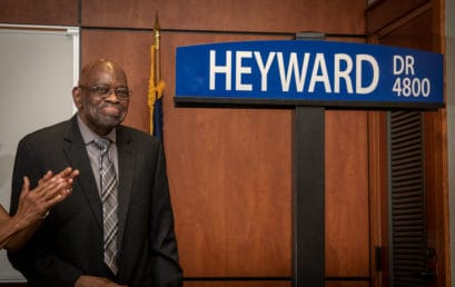 FMU thoroughfare renamed Heyward Drive