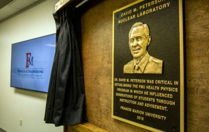 FMU dedicates David M. Peterson nuclear lab