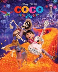 """Promotional poster for the movie, """"Coco."""""""