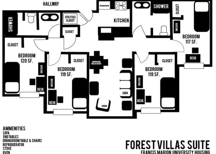 FOREST VILLAS SUITE