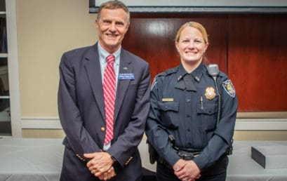 Myrtle Beach Police Chief honored as Psychology's alum of the year
