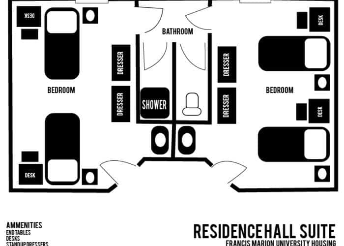 RESIDENCE HALL SUITE LAYOUT