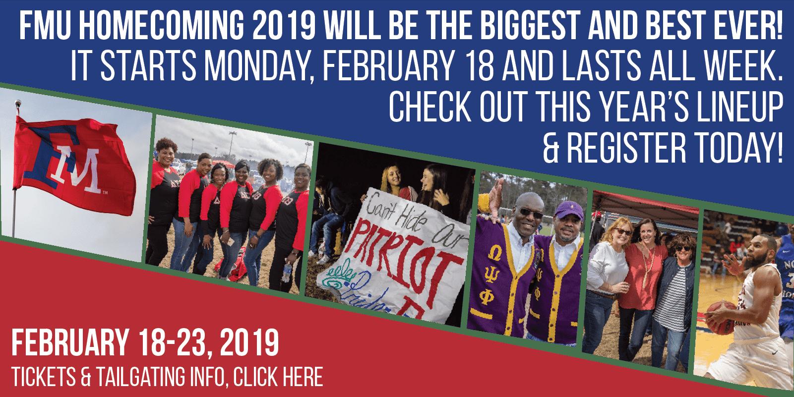 Homecoming Banner 2019