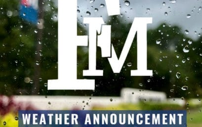 December 9, 2018 – FMU exams continue on a normal schedule