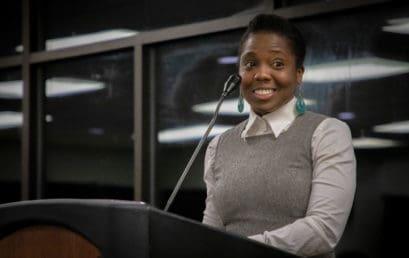 Wrighten receives FMU's AAFSC Diversity Award