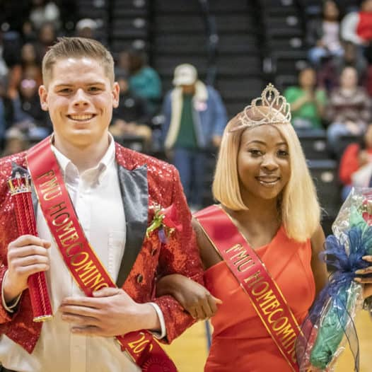 Francis Marion University crowns 2019 Homecoming king and queen