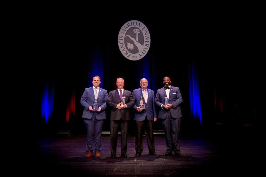 Francis Marion University honors four alumni at Awards Gala