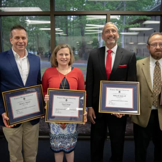 FMU professors honored for teaching, service, research, governance