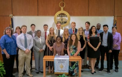 FMU's ODK honor society inducts 18 new members