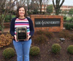 Panza wins MAA SE Beginning Teacher Award