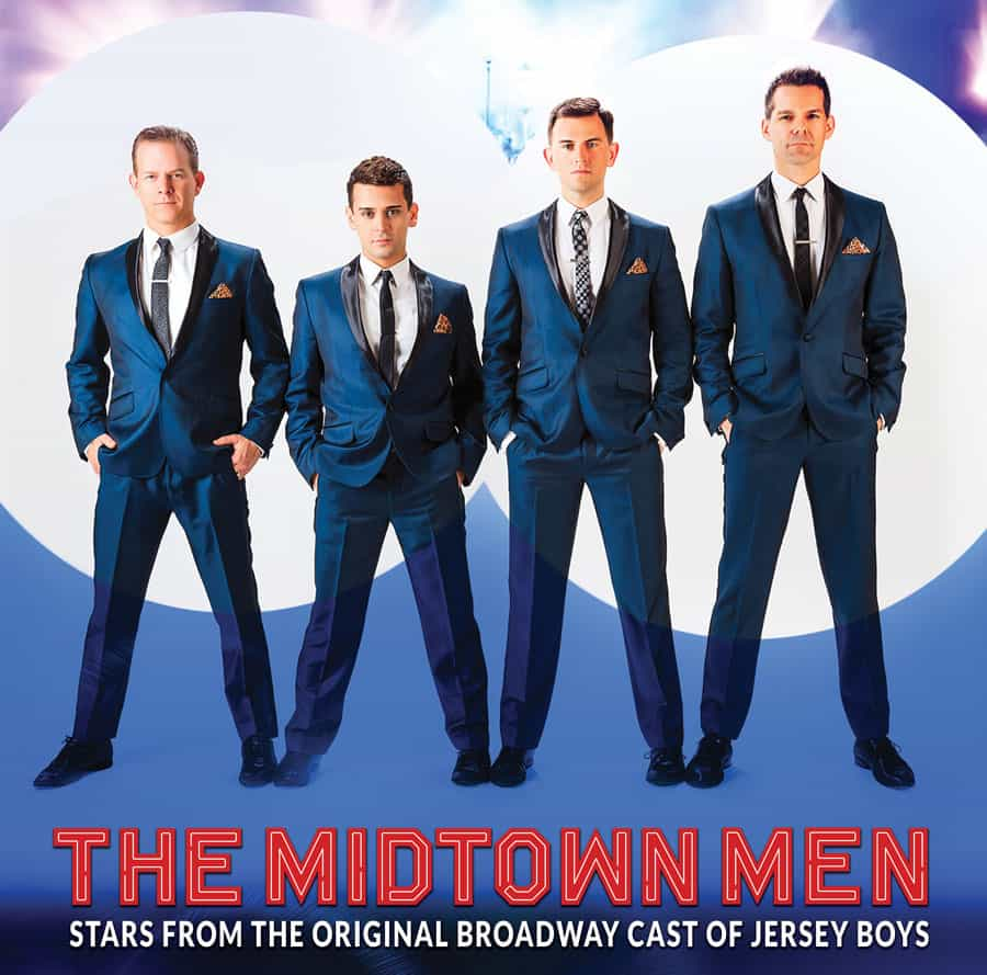 Midtown Men to close out 2019 PAC season with Broadway flair