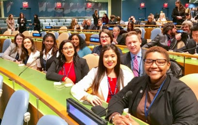 FMU Honors students politic at Model UN in New York City