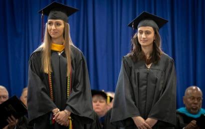 Two graduates receive FMU's prestigious Blackwell Award