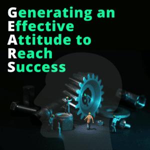 Generating an Effective Attitude to Reach Success @ Online/Virtual