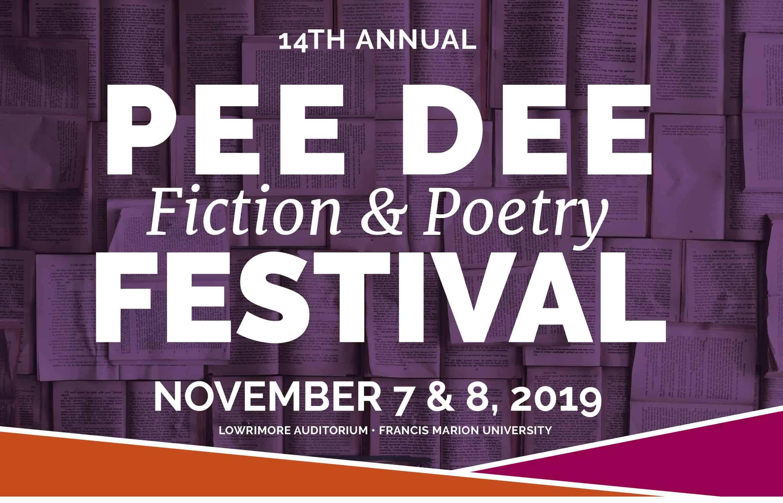 Pee Dee Fiction & Poetry Festival 2019