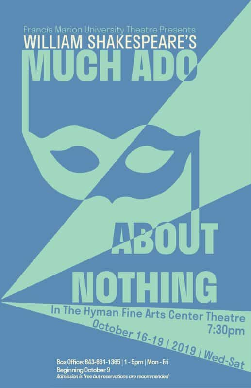 Fine Arts – University Theatre – Shakespeare's Much Ado About Nothing, D. Keith Best, director