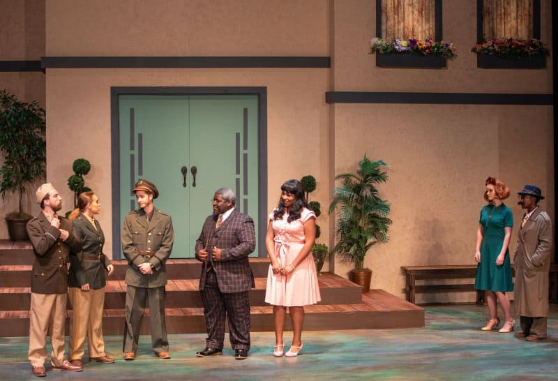 University Theatre Much Ado Fall 2019