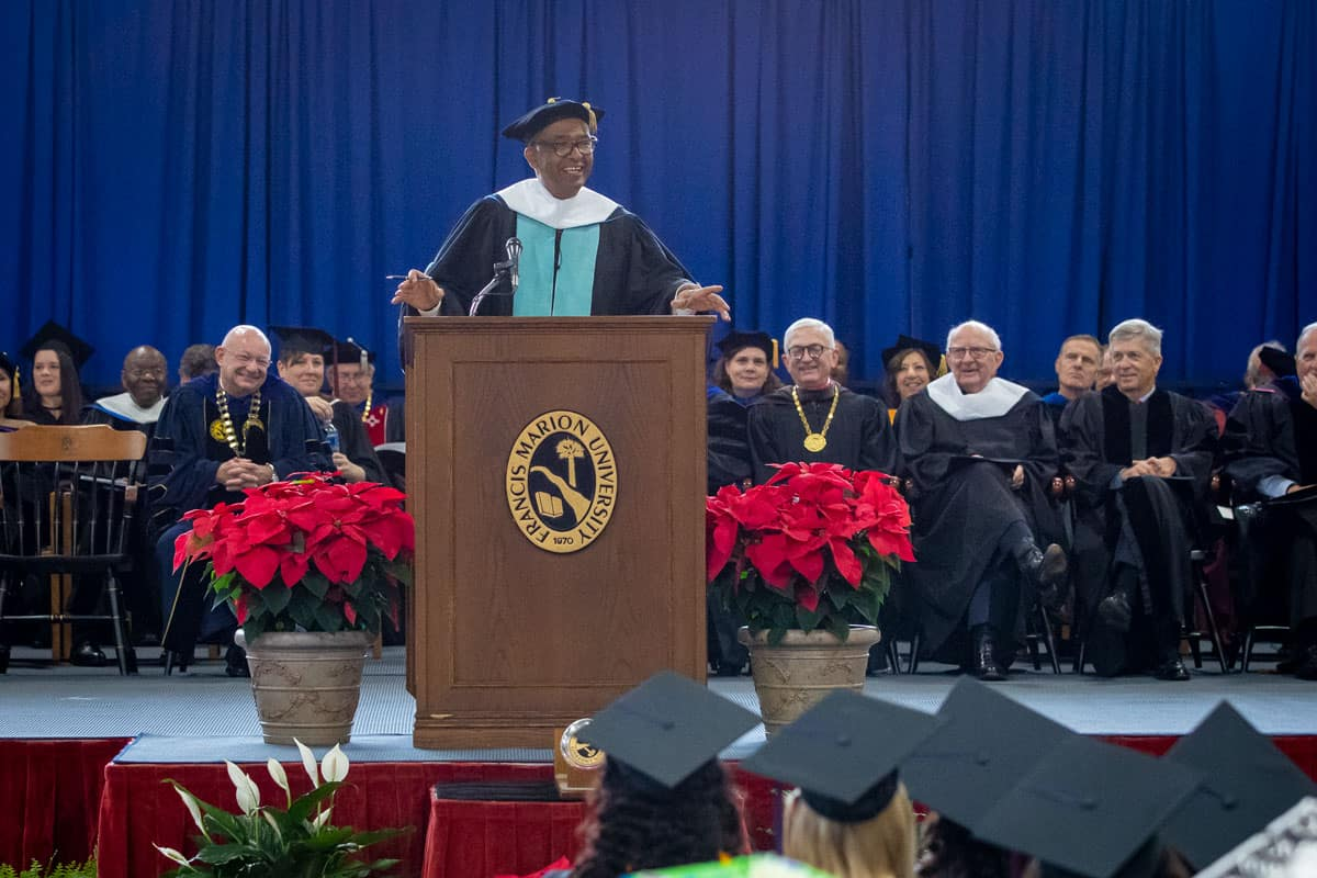 Civil rights leader Sellers tells FMU grads to aim high, reach for goals