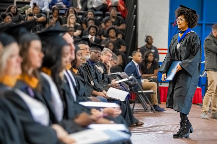 Summa Cum Laude grad hits her stride as a double major at FMU