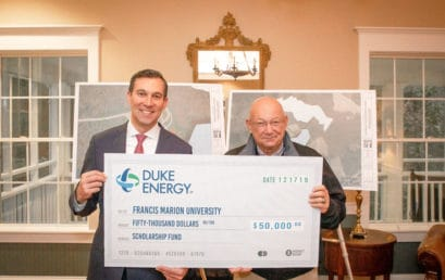 Duke Energy donates $50,000 to FMU ecology center project